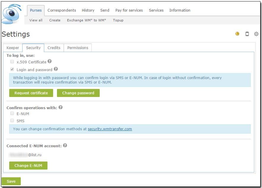 Obtaining The Client Certificate In Wm Keeper Webpro Webmoney Wiki