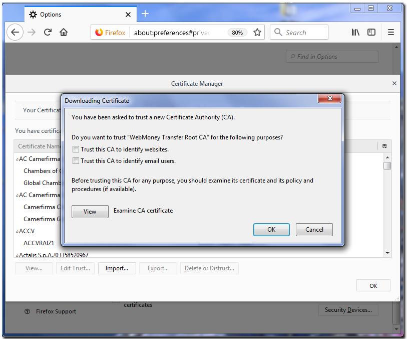 Installing Root Certificate In Mozilla Firefox Webmoney Wiki